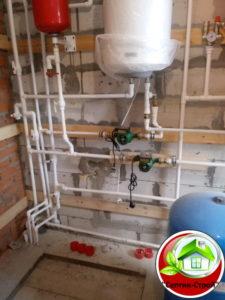 Водоснабжение частного дома в Городище